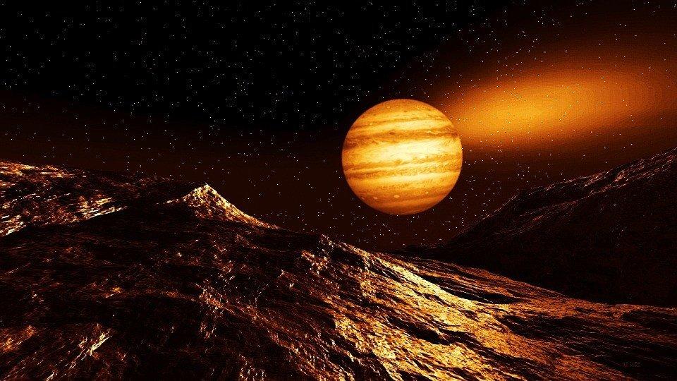 características de Júpiter