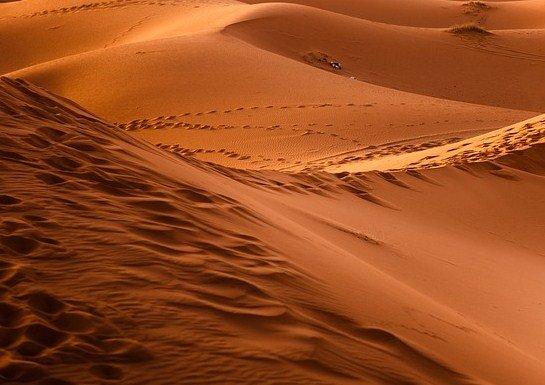 características de desierto