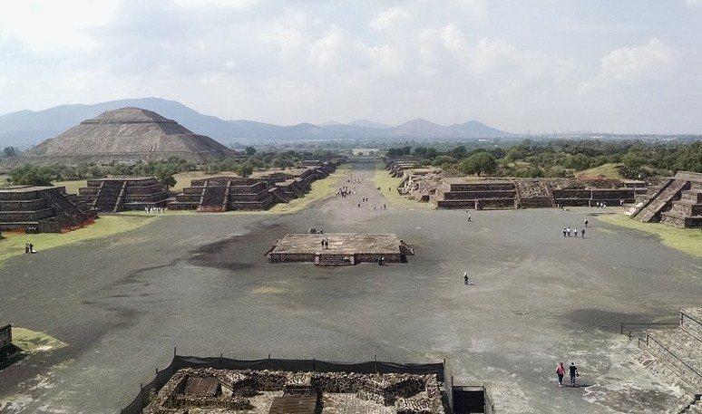 características de Teotihuacan