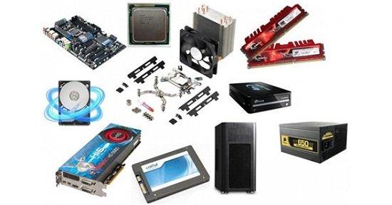 características de hardware