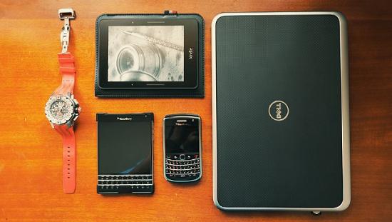 características de Blackberry