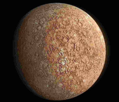 características de Mercurio