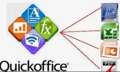 características de Quickoffice