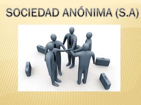 características de S.A (Sociedad Anónima)